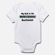 Worlds Greatest Auctioneer Onesie