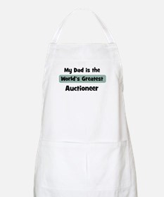 Worlds Greatest Auctioneer BBQ Apron