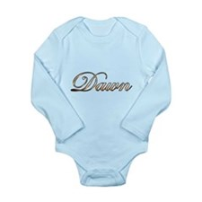 Dawn Long Sleeve Infant Bodysuit
