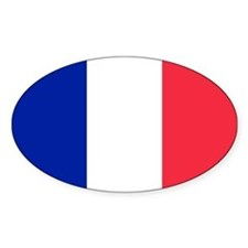 French Flag Decal