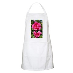 Pair of Pink Roses BBQ Apron