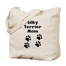 Silky Terrier Mom Tote Bag