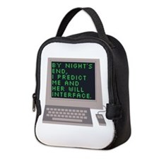 Sixteen Candles Interface Neoprene Lunch Bag