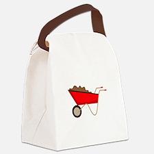 Garden Wagon Canvas Lunch Bag