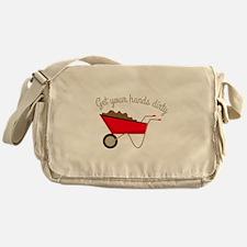 Hands Dirty Messenger Bag