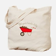 Hands Dirty Tote Bag
