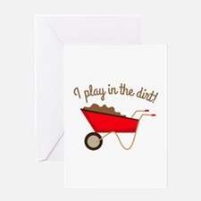 Dirt Play Greeting Cards