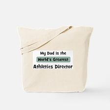 Worlds Greatest Athletics Dir Tote Bag
