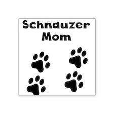 Schnauzer Mom Sticker