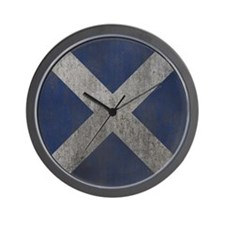 Scotland Independence Flag Wall Clock