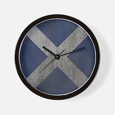 Scotland Independence Flag Wall Clock