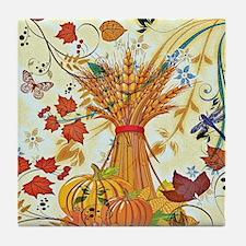 Autumn delight Tile Coaster