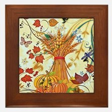Autumn delight Framed Tile