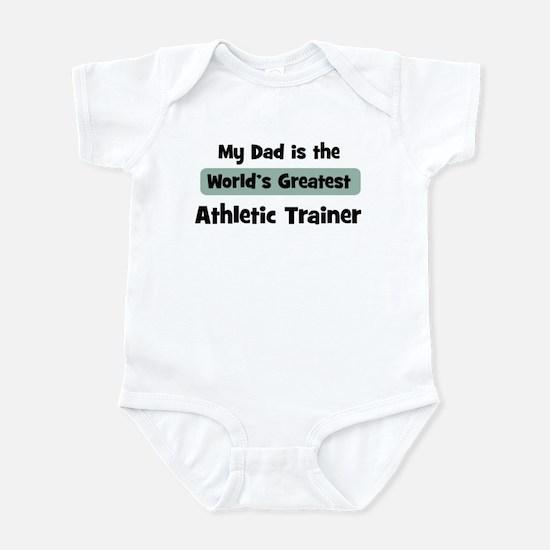 Worlds Greatest Athletic Trai Infant Bodysuit