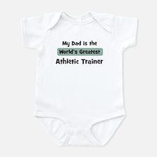 Worlds Greatest Athletic Trai Onesie