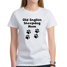 Old English Sheepdog Mom T-Shirt