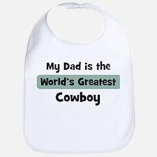 Worlds Greatest Cowboy Bib
