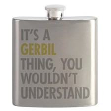 Its A Gerbil Thing Flask