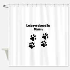 Labradoodle Mom Shower Curtain