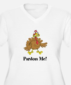 Custom Turkey Plus Size T-Shirt