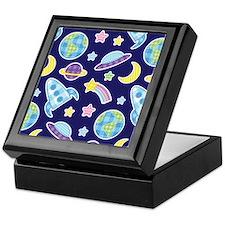 Outer Space Explorer Keepsake Box