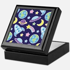 Outer Space Explorer Keepsake Box