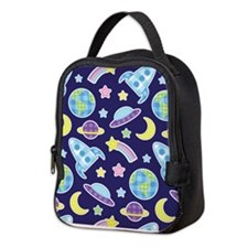 Outer Space Explorer Neoprene Lunch Bag