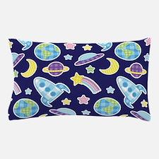 Outer Space Explorer Pillow Case