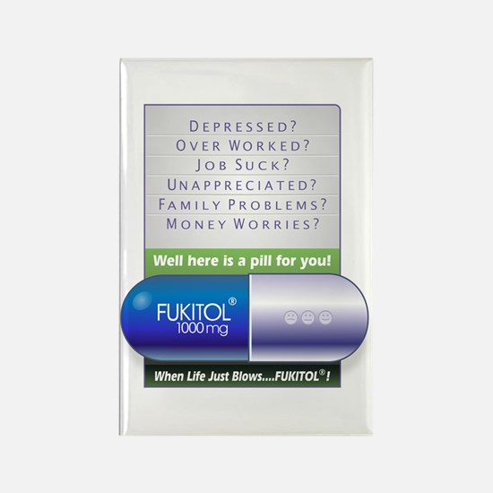 Fukitol Poster Magnets