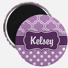 Purple Dots and Lattice Pattern Magnet