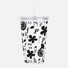 French Horn Classical Acrylic Double-wall Tumbler