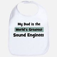 Worlds Greatest Sound Enginee Bib