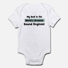 Worlds Greatest Sound Enginee Infant Bodysuit
