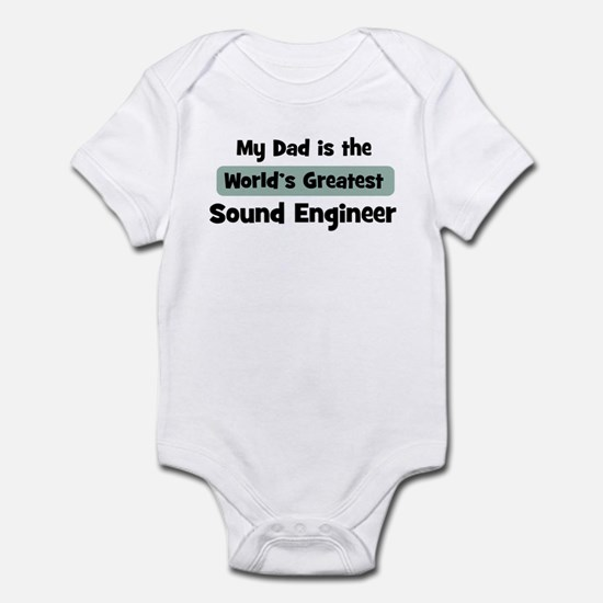 Worlds Greatest Sound Enginee Infant Bodysuit
