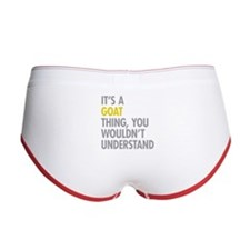 Its A Goat Thing Women's Boy Brief