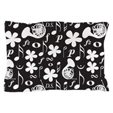 French Horn Classical Music Pillow Case
