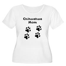 Chihuahua Mom Plus Size T-Shirt