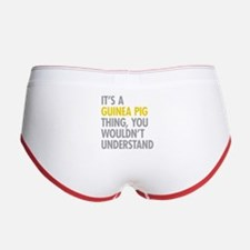 Its A Guinea Pig Thing Women's Boy Brief