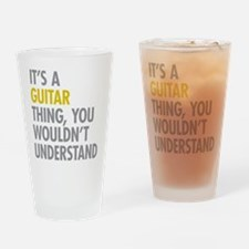 Its A Guitar Thing Drinking Glass