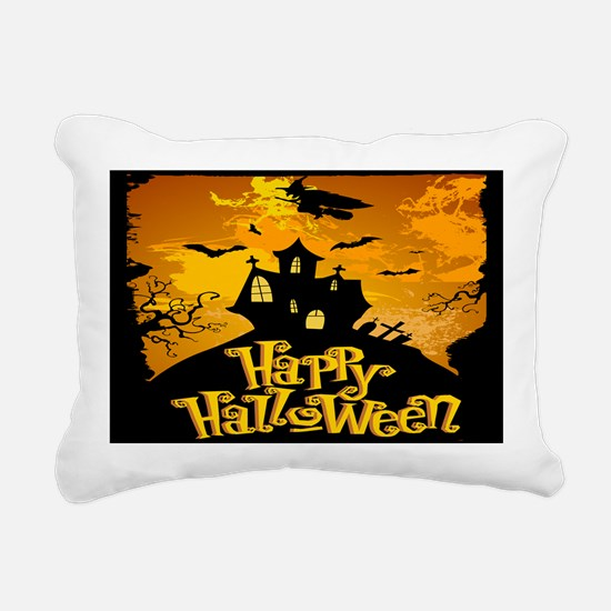Haunted Mansion Rectangular Canvas Pillow