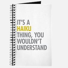 Its A Haiku Thing Journal