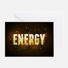 Energy Greeting Cards