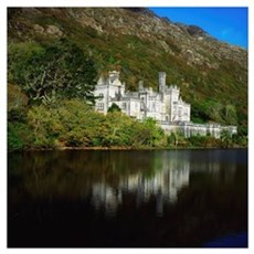 Co Galway, Kylemore Abbey Canvas Art