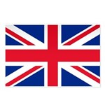 Britain Flag Postcards (Package of 8)