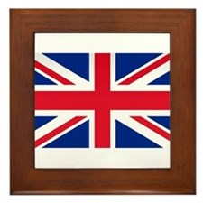 Britain Flag Framed Tile