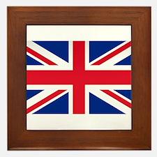 Britain Flag Framed Tile