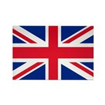 Britain Flag Rectangle Magnet (10 pack)