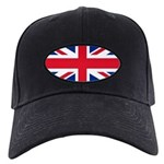 Britain Flag Black Cap