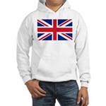 Britain Flag Hooded Sweatshirt