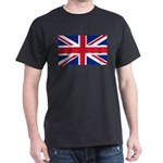 Britain Flag Dark T-Shirt